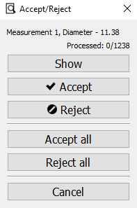 Accept/Reject